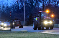 FFA tractor parade promotes agriculture at school