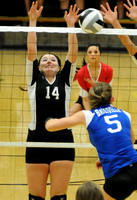 Volleyball teams win regional crowns; semistate next - Home court helps Braves advance