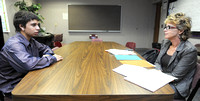 Mock interviews give students insight to real world