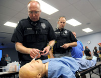Area officers train in use of opioid overdose drugs