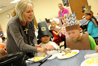 Students learn lesson about 1st Thanksgiving