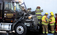 Police cite trucker involved in multi-vehicle wreck