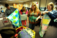 Blanket response - Students collect, make coverings for needy