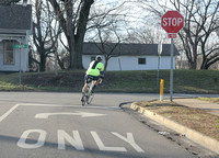 Bicyclists push for lanes on busy streets