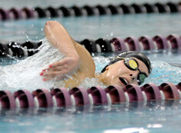 Seymour swimming for sectional spots