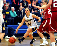 Trinity Lutheran senior battles on basketball, volleyball courts