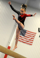 Photo gallery - Gymnastics coach beaming with pride