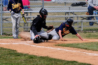 Cougars sweep Jets in baseball