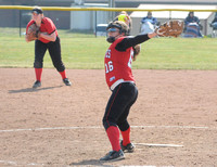 Braves??? Branaman throws no-hitter in softball opener