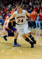 Dominating force - Braves senior earns county basketball honor