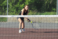 Braves edge Corydon Central in conference tennis