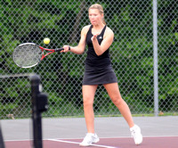 Brownstown squeezes out win against Cougars in tennis