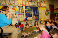 Book program has special meaning for Rotary club, kindergartners