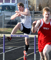 Cougar found his stride in hurdles, track and field