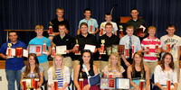 Lakins, Nehrt earn most valuable at Crothersville program
