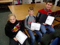 Brownstown students honored