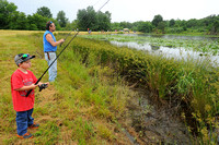 Muscatatuck promotes nature with Take a Kid Fishing Day