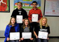 Students of the Month honored at Brownstown