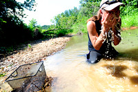 Hoosiers take shine to prospecting in nearby streambeds