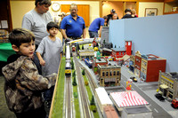 Annual holiday train club???s display at library attracts people of all ages