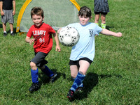Camp gets kids hooked on soccer