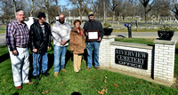 Secretary of state recognizes Riverview Cemetery