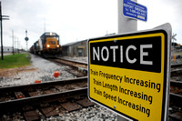 City prepares for increased rail traffic