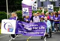 Cancer survivors, supporters walk to beat cancer, celebrate life