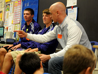 Players, coach push students to pursue dreams