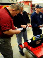 Fire departments receive AEDs