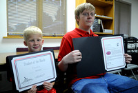 Brownstown honors students of the month