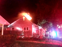 Fire destroys home in Ewing