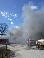 Fire reported at tire store south of Crothersville