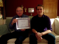 Brownstown man receives award from Big Brothers Big Sisters