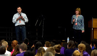 Missionaries share Brazilian culture at Seymour Middle School