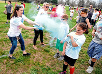 Color Fun Run benefits Brownstown Elementary School PTO