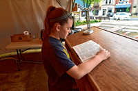 Bible reading event held in downtown Seymour