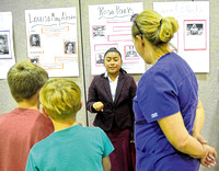 A night at the wax museum: Jackson Elementary students bring famous figures to life