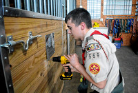Brownstown student completes Eagle Scout project at Reins to Recovery