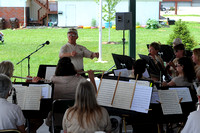 Columbus City Band performs at Heritage Park