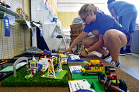 Ready for ribbons: 4-H'ers turn in projects