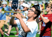 Brownstown Central, Seymour marching bands gear up for football season