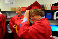 Extended days make for odd graduation ceremony