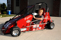 Midget car goes missing in Indy