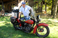 Brownstown man completes cross-country motorcycle race