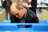 Voter turnout steady at Brownstown precincts