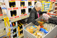 Forecast has shoppers scurrying for supplies
