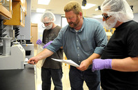 Lab equipment provides learning opportunities