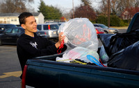 Students pitch in with clothing drive, surpass goal with effort