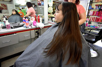 Woman donates hair in honor of late brother